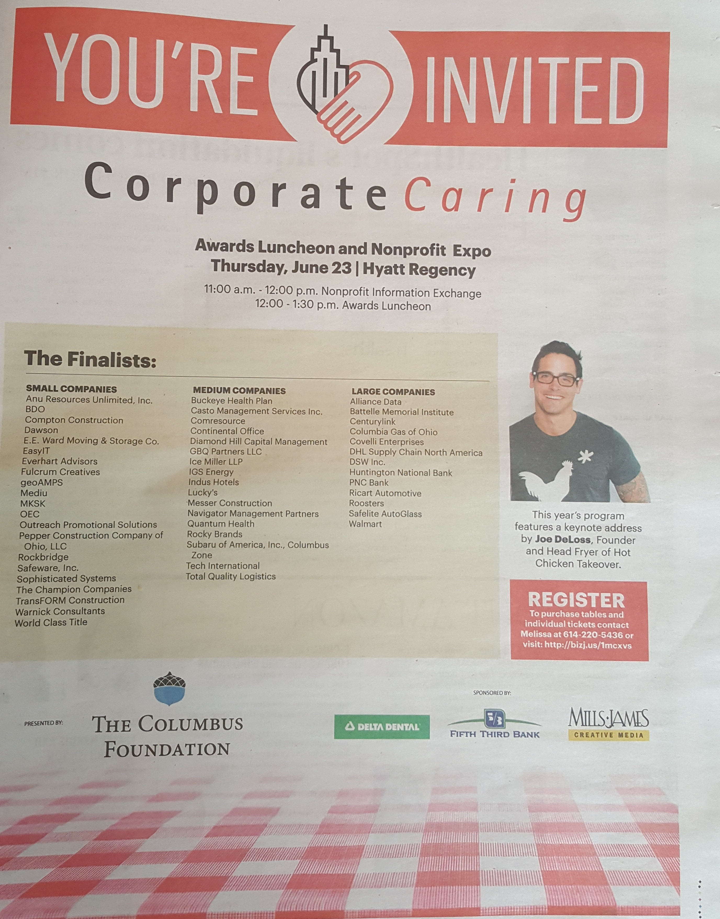 Countdown to Corporate Caring!