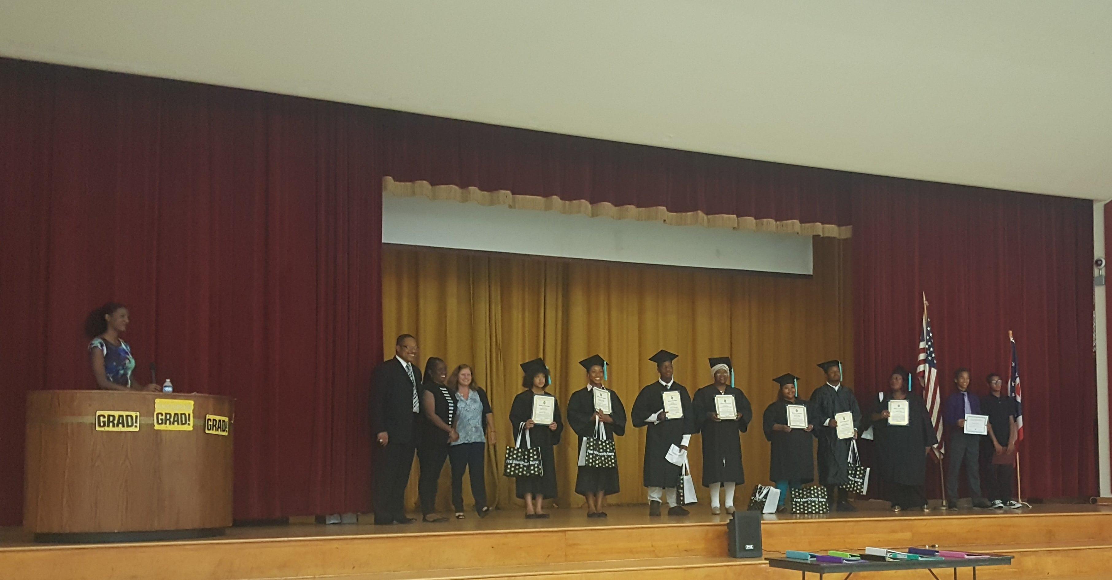 Youth Entrepreneurship Institute Graduation Ceremony