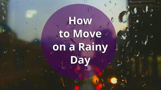 Columbus Movers Tips and Tricks for a Rainy Day Move