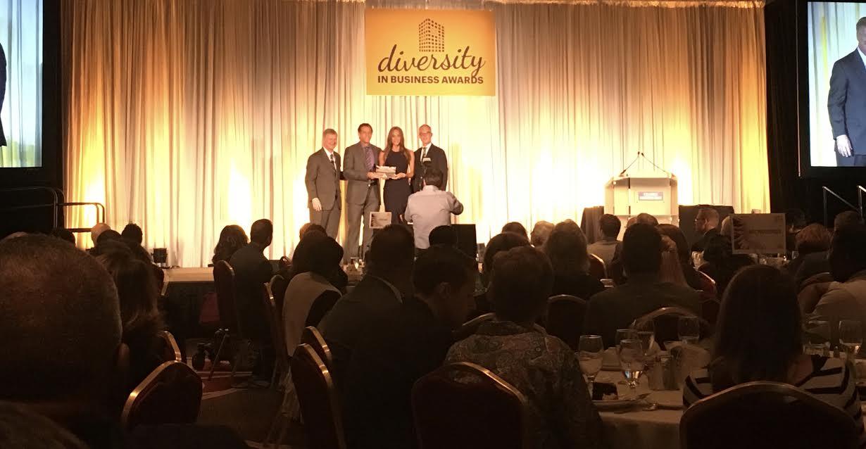 Columbus Mover, E.E. Ward receives an Outstanding Diverse Business Award