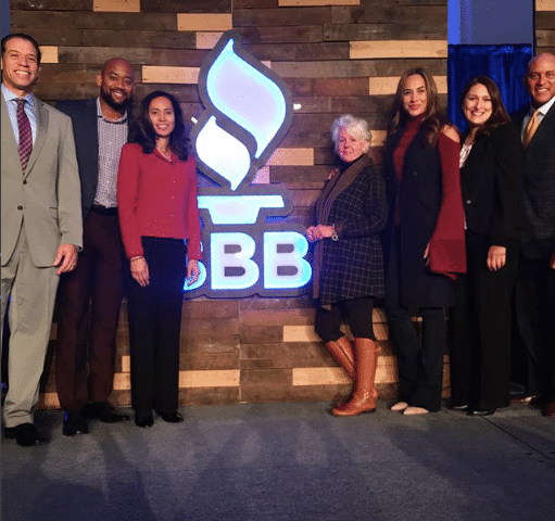 Columbus Mover attends 2017 BBB Torch Awards