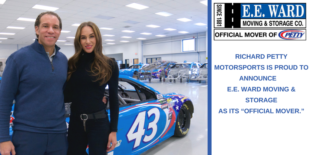 E.E. Ward is Now The Official Mover of Richard Petty Motorsports