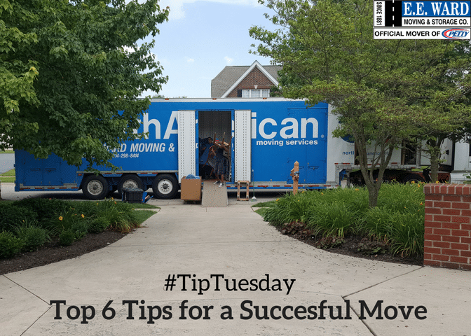 #TipTuesday-Six Tips For a Good Move