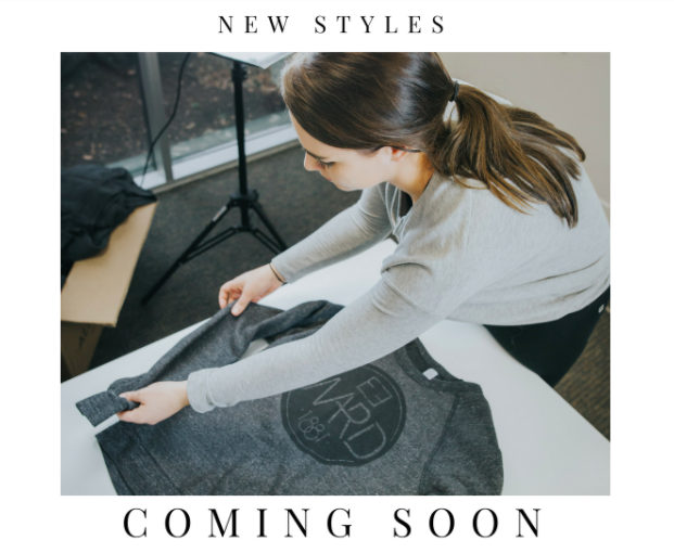 Coming Soon… More styles from 1881 Apparel!