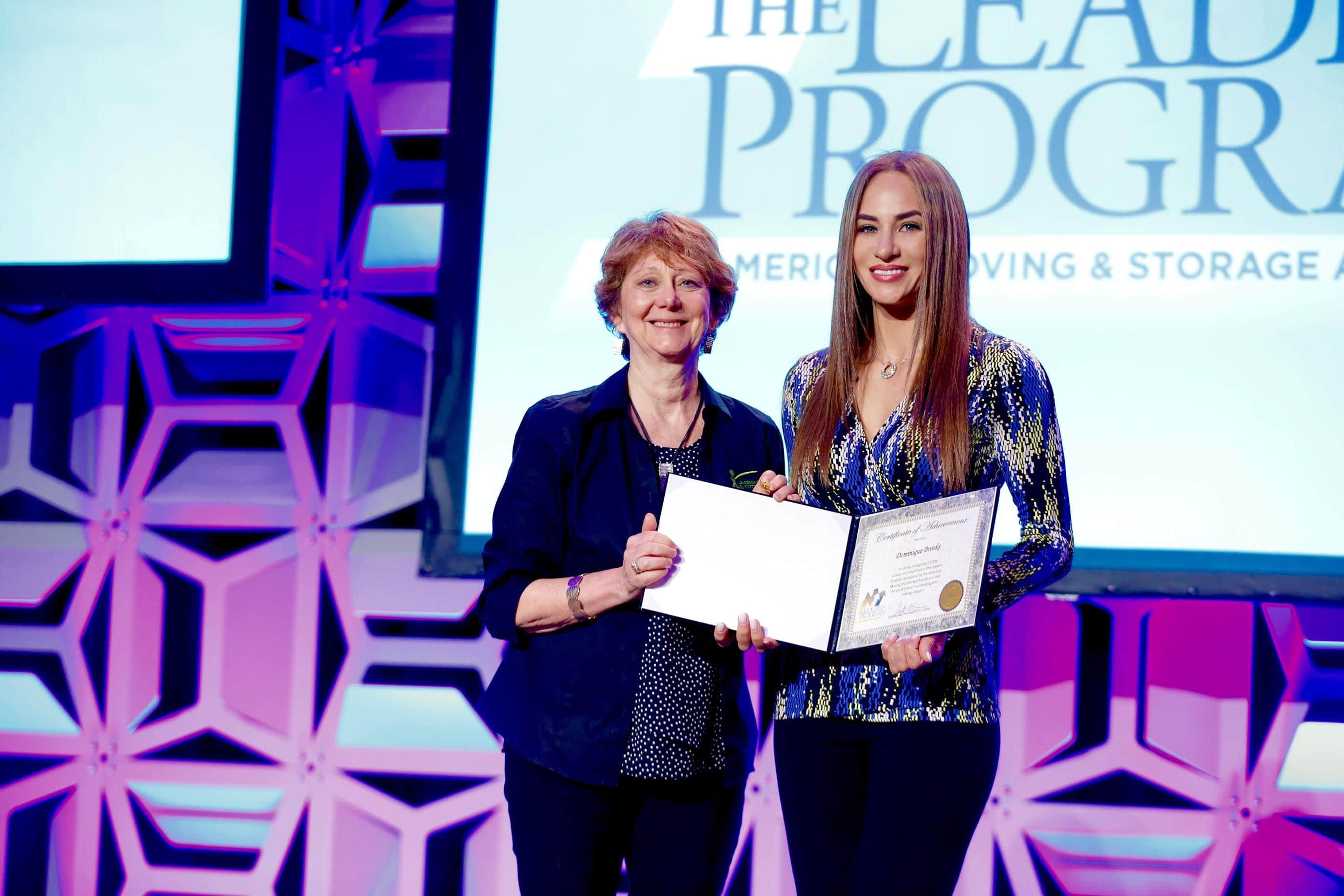 Columbus Mover & AMSA Award Winner Graduates Leaders Program