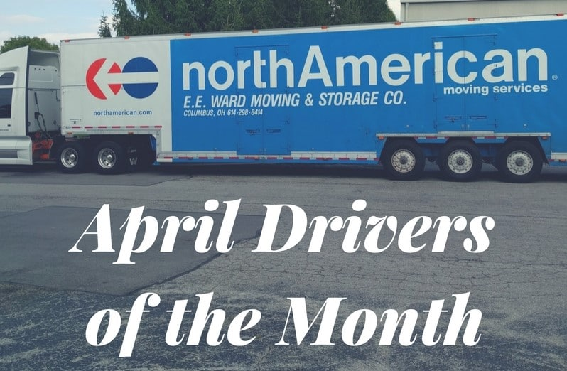 April Drivers of the Month