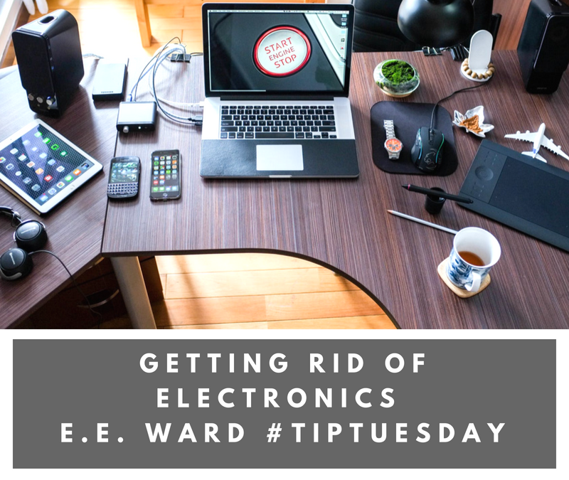 #TipTuesday- Getting Rid of Electronics