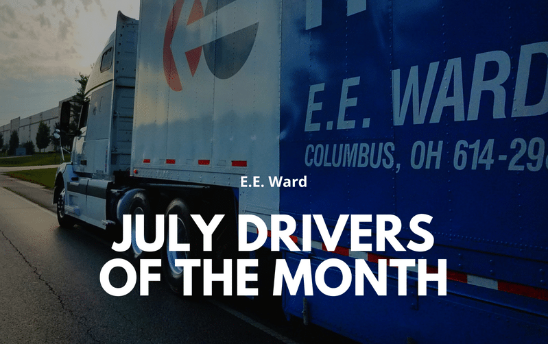 July Drivers Of The Month