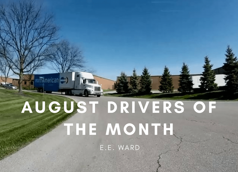 August Drivers Of The Month