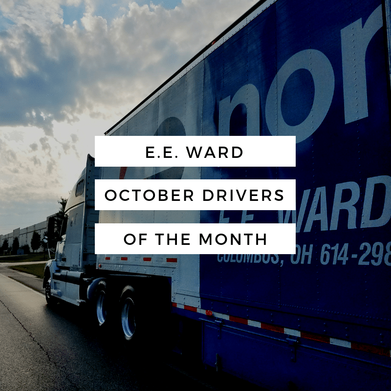 October Drivers of the Month