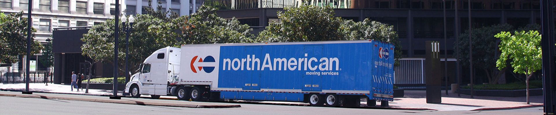Corporate Relocation Moving Company Truck