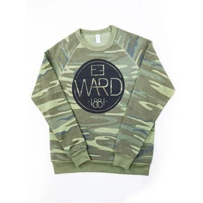 Emblem – Alternative Crew Fleece Pullover – camo