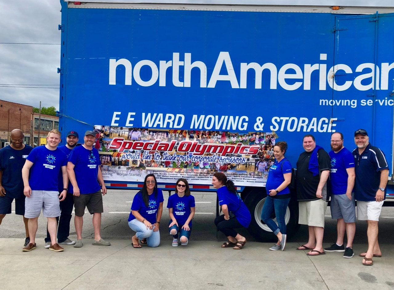 Columbus Movers Supports Franklin County Special Olympics