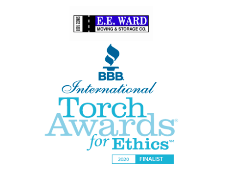 E.E. Ward Moving & Storage Named as Finalist in 2020 BBB International Torch Awards for Ethics