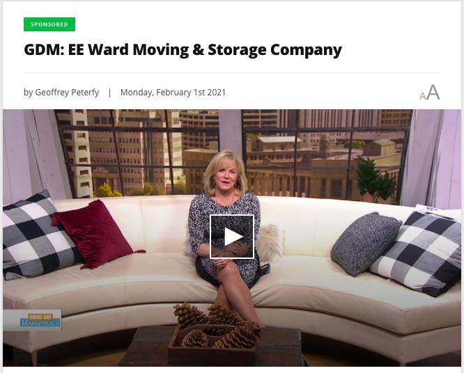 E.E. Ward Story Shared on Good Day Marketplace