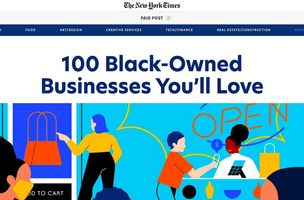 00 Black Owned Businesses You'll Love